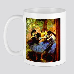 Degas Blue Dancers Mug