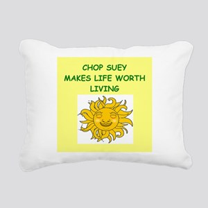 CHOP Rectangular Canvas Pillow