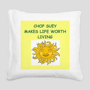 CHOP Square Canvas Pillow