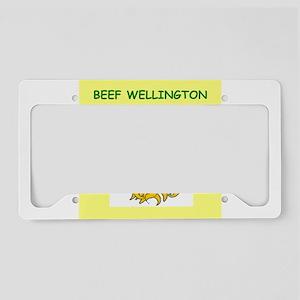BEEF License Plate Holder
