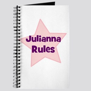 Julianna Rules Journal