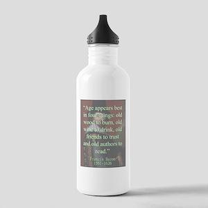 Age Appears Best - Bacon Water Bottle