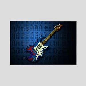 KuuMa Guitar 02 (B) Rectangle Magnet