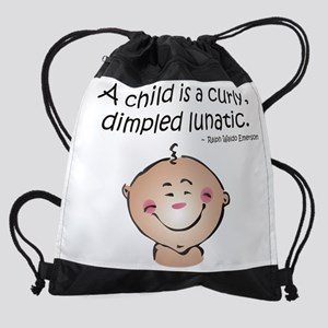 lunatic Drawstring Bag