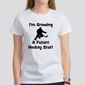 Growing A Future Hockey Star Women's T-Shirt