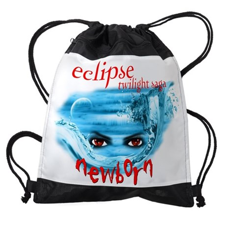TWILIGHT SAGA ECLIPSE NEWBORN DRAWSTRING BAG