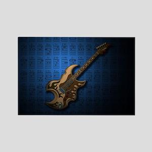 KuuMa Guitar 04 (B) Rectangle Magnet
