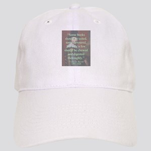 Some Books Should Be Tasted - Bacon Baseball Cap