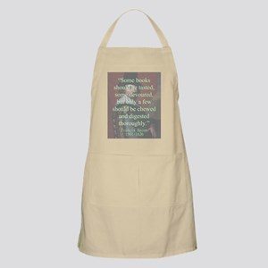 Some Books Should Be Tasted - Bacon Light Apron