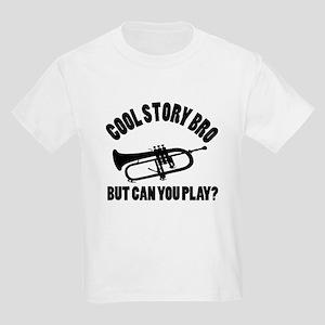 Cornet vector designs Kids Light T-Shirt