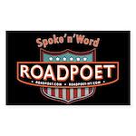 RoadPoet Biker Poetry Sticker