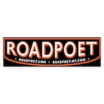 RoadPoet Biker Poet Bumper Sticker