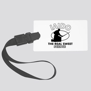Iaido the real sweet science Large Luggage Tag