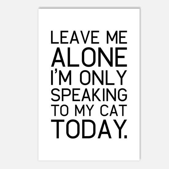 Only my cat understands. Postcards (Package of 8)