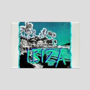 Ibiza island Rectangle Magnet (10 pack)