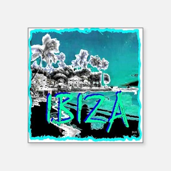 Ibiza island Sticker