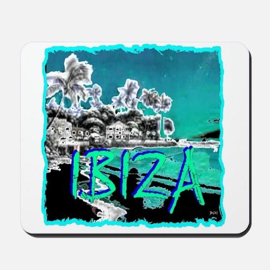 Ibiza island Mousepad