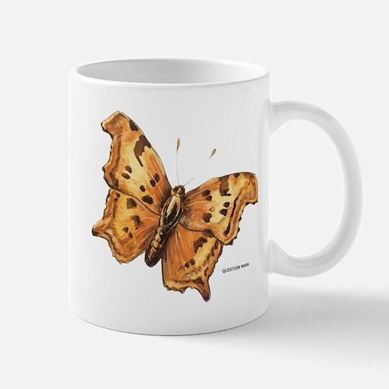Question Mark Butterfly Mug