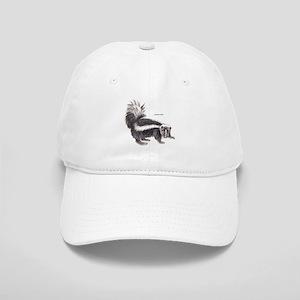Striped Skunk Cap