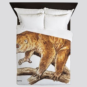 Potto Primate Queen Duvet