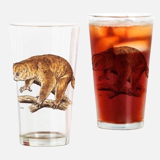 Potto Primate Drinking Glass