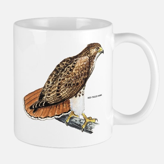 Red-Tailed Hawk Bird Mug