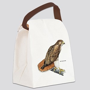 Red-Tailed Hawk Bird Canvas Lunch Bag