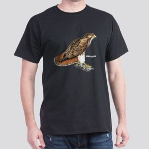 Red-Tailed Hawk Bird Dark T-Shirt