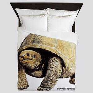 Galapagos Tortoise Queen Duvet