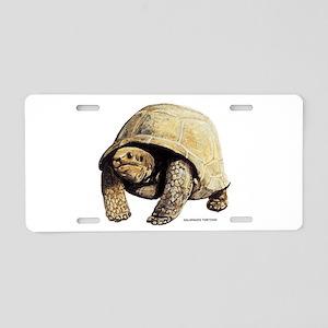 Galapagos Tortoise Aluminum License Plate