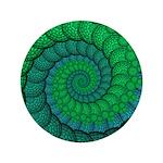 Blue and Green Fractal Art 3.5