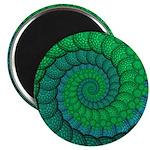Blue and Green Fractal Art 2.25