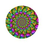 Rainbow Yellow Fractal Art 3.5