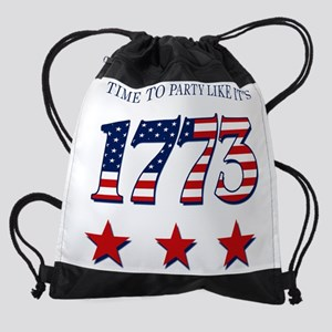 time to party like its 1773 Drawstring Bag