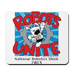 Robots Unite Mousepad