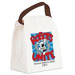 Robots Unite Canvas Lunch Bag