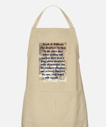 In The Olden Days - Grimm Light Apron