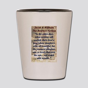 In The Olden Days - Grimm Shot Glass
