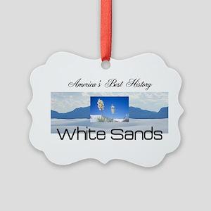 ABH White Sands Picture Ornament