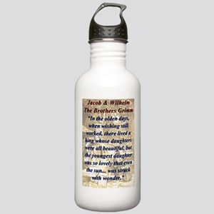 In The Olden Days - Grimm Water Bottle
