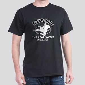 Taekwondo the real sweet science Dark T-Shirt