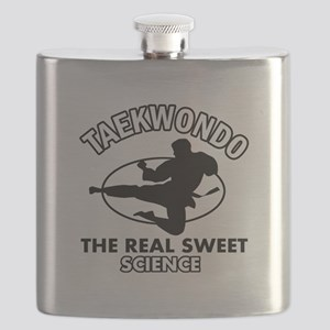 Taekwondo the real sweet science Flask