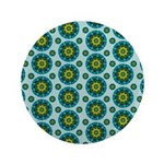 Turquoise Retro Mandala 3.5