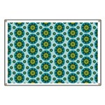 Turquoise Retro Mandala Banner