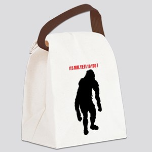 Mr. Yeti Canvas Lunch Bag