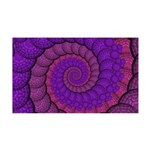 Purple and Pink Fractal Wall Decal