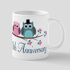 13th Wedding Anniversary Gift Mug