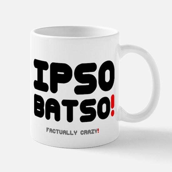 IPSO BATSO! Small Mug