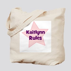 Kaitlynn Rules Tote Bag