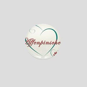 Affenpinscher Love Mini Button
